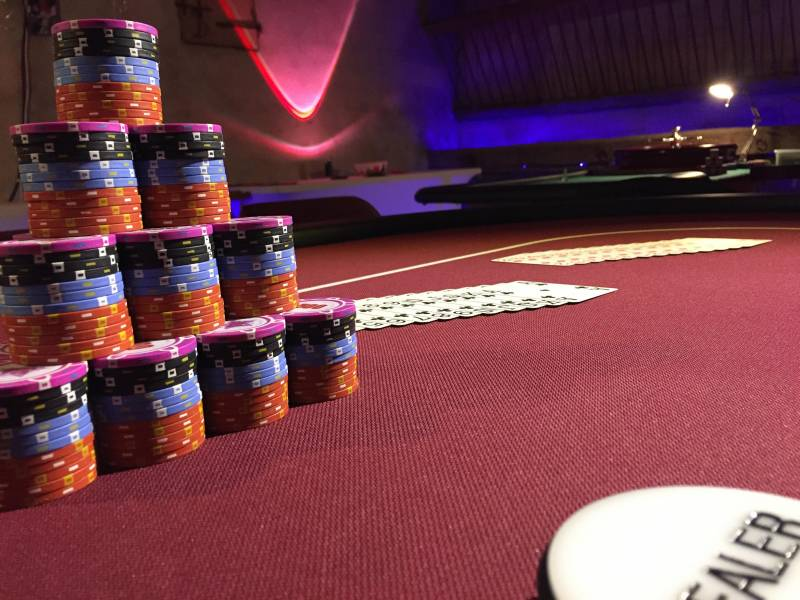 Poker tutorial game